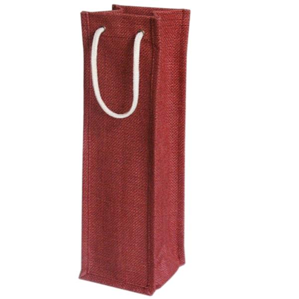 PG256 Wholesale Personalized Wine Gift Bag Cheap Wine Bottle Tote Bag