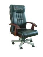 Solidwood Base Office Chair for President