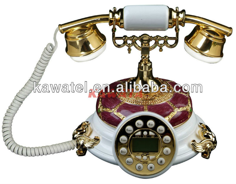 Classic European style restoring ancient ways telephone