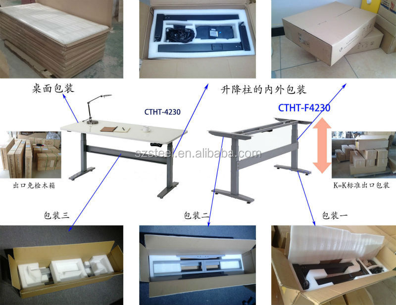 Electronic Height Adjustment Table, Electronic Adjustable Table Frame,  Single Motor Electronic Table Frame For