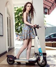 10 inch mini smart folding electric scooter