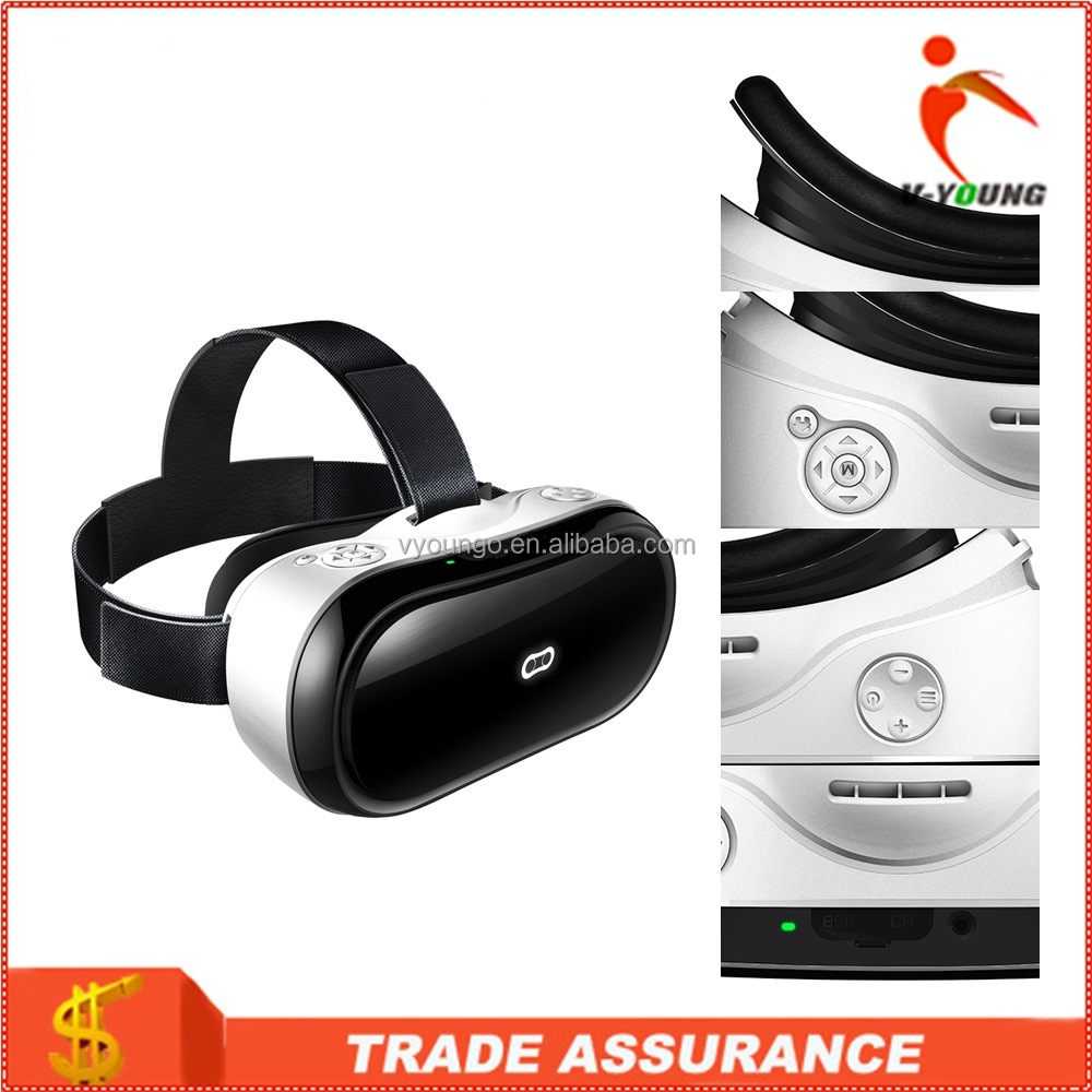 Factory directly 3D Virtual Reality Glasses Support 3D Movie/Games/Video All In One 3D VR Box