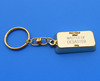pure 24k gold bar metal key chain