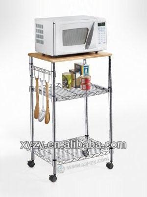 Microwave Table Kitchen Shelf Unit