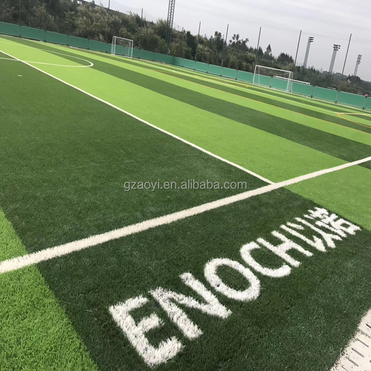 Great value green turf 50mm pu backing artificial grass football field surface