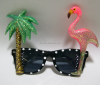 Carnival festival Hawaii style crazy party funny safety eye glasses frame PG-0029