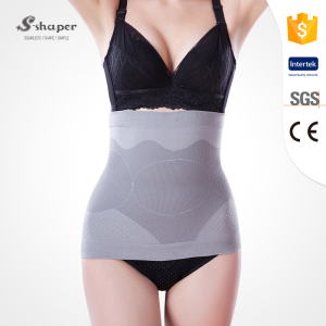 S-SHAPER Breathable Bamboo Women Waist Shaper Slimming Belt