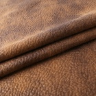 Colorful soft bubble suede cloth polyester leather cloak fabric price per meter