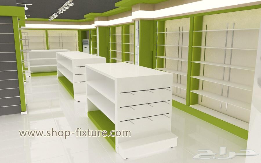 Wooden Retail Pharmacy Shop Interior Design Pharmacy Shop