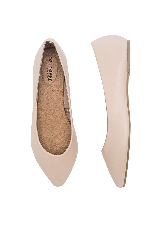 cbdc463d4e0b Get Quotations · Ardene Women s - Faux Leather Flats