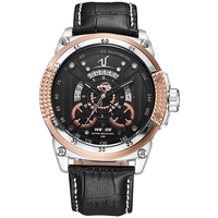 WEIDE UV1605-6C mens top brand leather straps roles watches men gold luxury best selling products