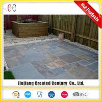 Mass supply paving slabs slate floor tile, honed black slate slabs for sale