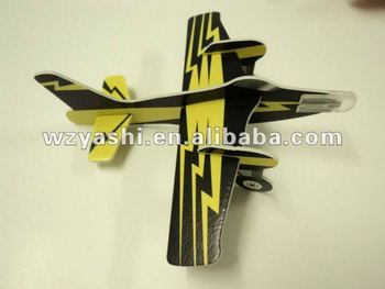 Warplane Foam Glider Origami Puzzles Plane Model