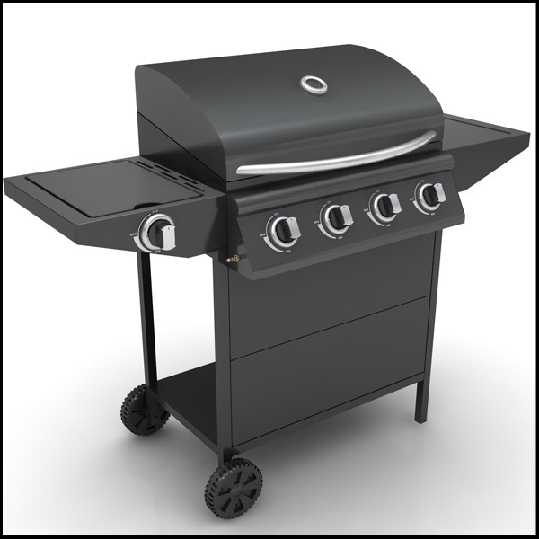 4 1 Burner Built In Gas Bbq Grill Bbq Barbecue Grill Buy Built In