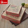 Disposable take out cheap paper custom pizza box