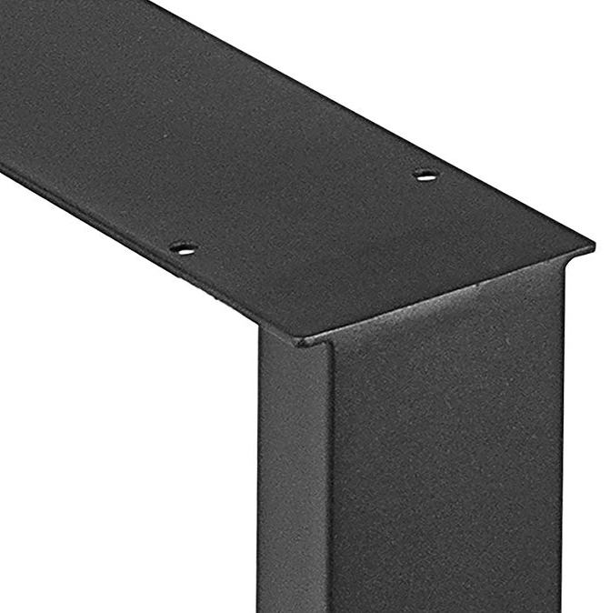 Simple type steel metal square tube table leg for sale