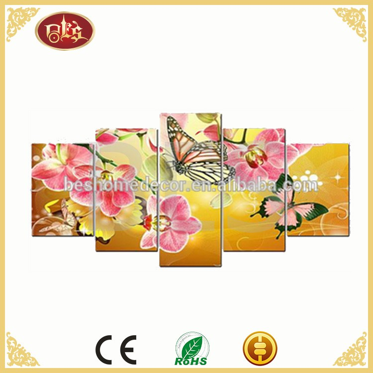 canvas flower painting,modern canvas art,canvas printing