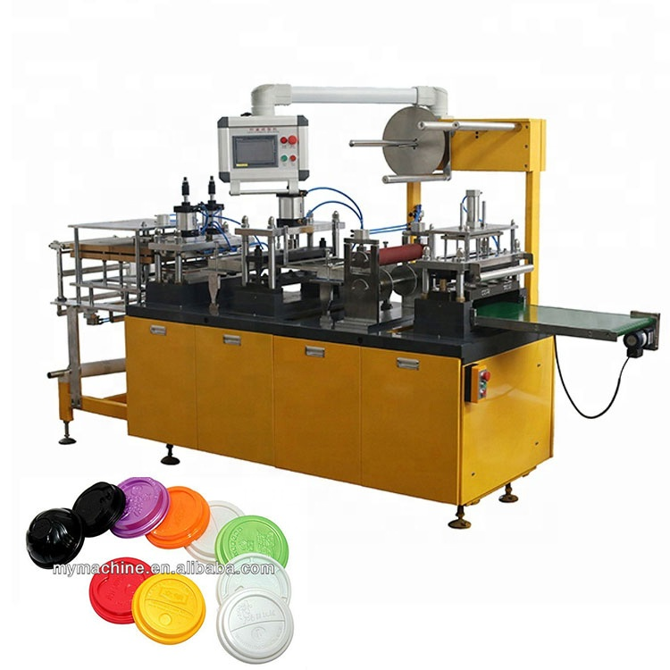 Automatic Coffee Cup Plastic Lid Making Machine