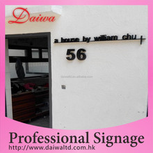 Outdoor Stainless-steel Paint Words House Number Sign