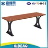 Outdoor Wooden Bench Park Rest Chairs Long Size Street