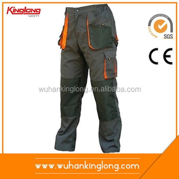 7a773dfef6 Work Trousers Mens Cargo Combat Style Work Wear Pants Knee pads