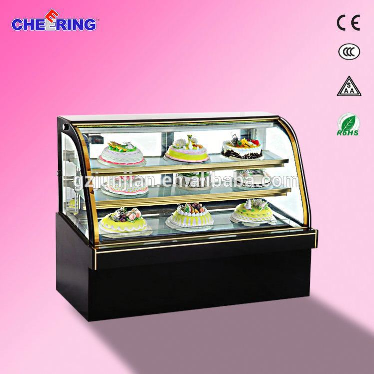 Dessert Display Cooler Store Cake In Refrigerator Supplier