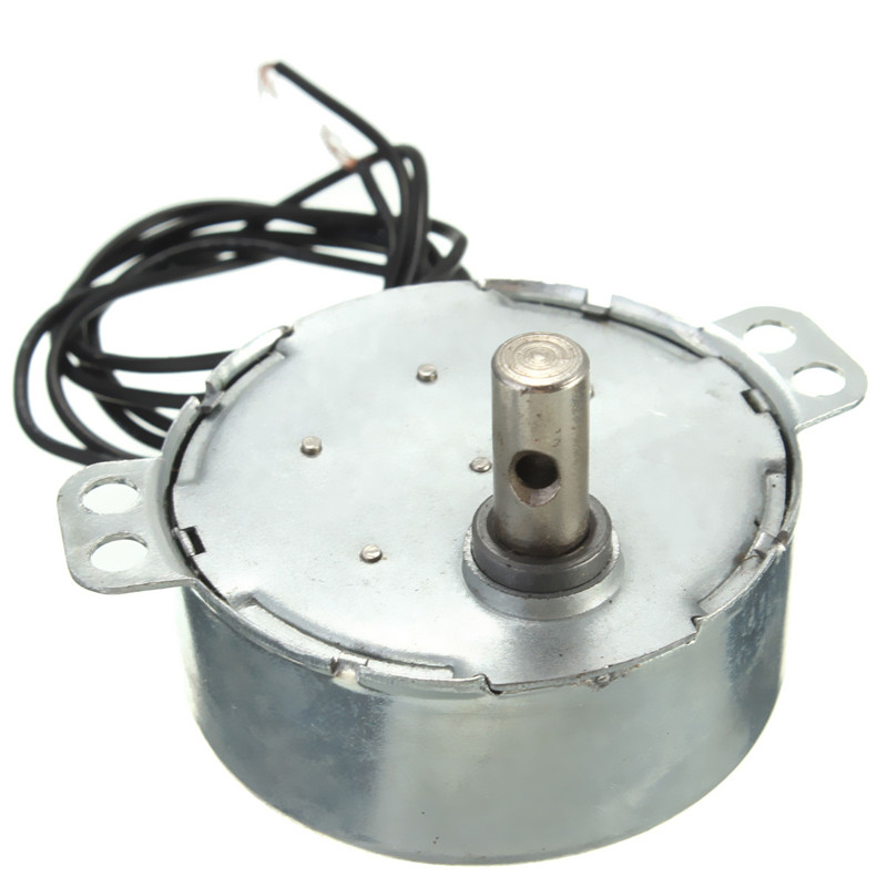 Microwave 2.5-3RPM Rotary Speed Synchronous Motor 220-240VAC 4 Watt