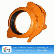 concrete pumping hose clamps and gaskets