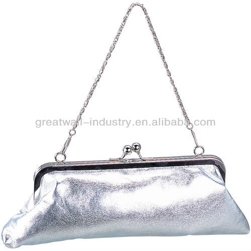 shenzhen hardware handbags factory sell hard case evening clutch bags