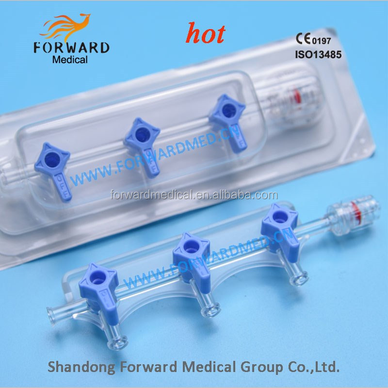disposable high presure manifold