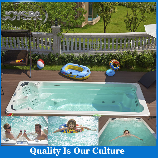 Hot sale Balboa system luxury massage outdoor used swim spa