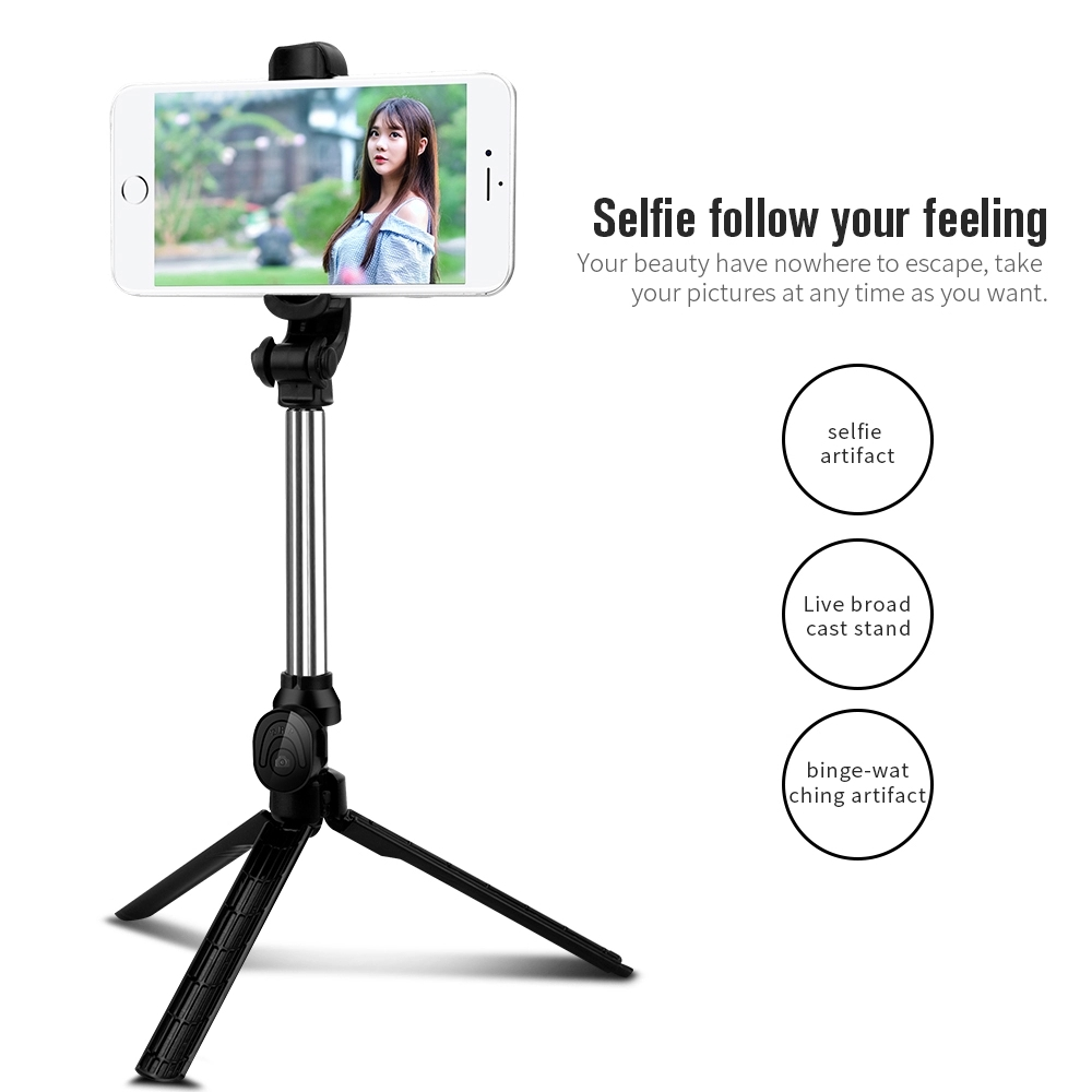 New tripod For Camera selfie stick Horizontal and vertical Bluetooth selfie stick Mobile phone bracket factory direct sales