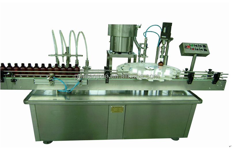 Oil filling capping machine for bottle/filling capping production line for alcoholic drink