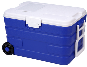 40Liter plastic corona beer cooler box with wheel
