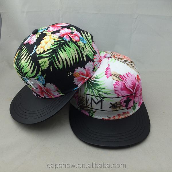 468c5b4ce3d Hat Cap Flower Embroidery