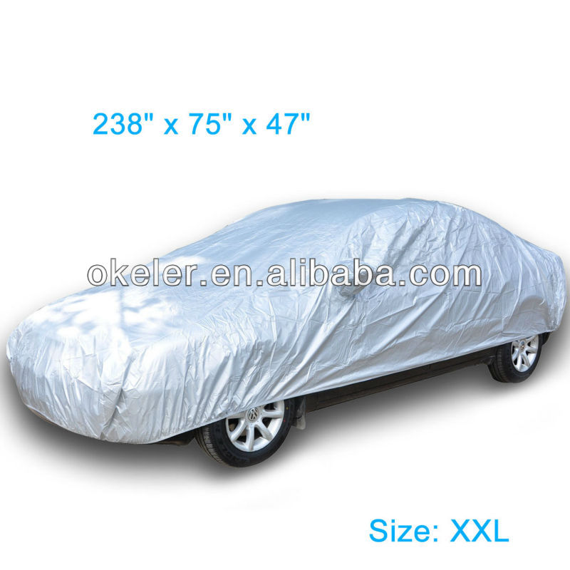 Waterproof Universal Car Cover Outdoor Indoor All Weather Different Size XXL XL L M S