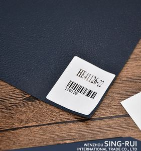Top sale good quality PVC black faux leather for bags material