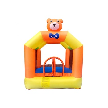 Bouncer Inflatable Jumping Bounce House Small Kids Compact Blower Incl