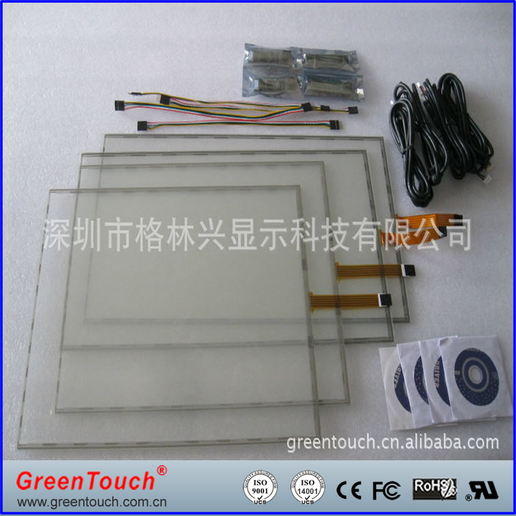 5 wire Resistive LCD Touch screen digitizer panel Touch,GPS,Tablet PC,MID touch panel