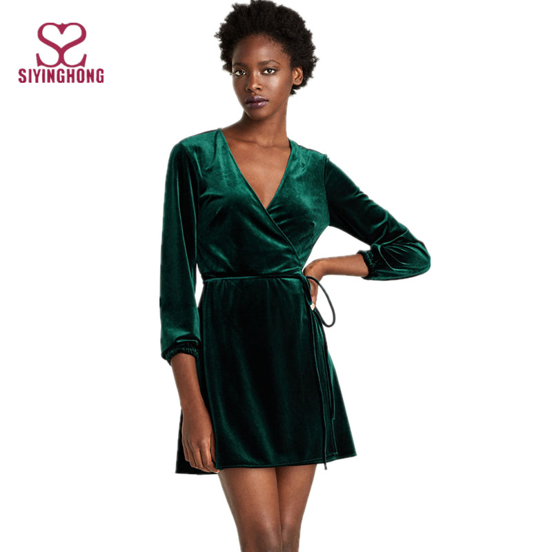 a91075fc9fc7f مصادر شركات تصنيع طويلة الأكمام فستان أخضر وطويلة الأكمام فستان أخضر في  Alibaba.com