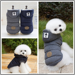 Large Pet dog hoodie jumper clothing warm sweater