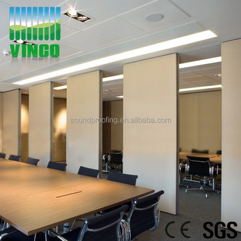 Vinco Wall Material Ready Made Office Partitions Sound Proof Partition  Doors Sliding Movable China Manufacture Booth