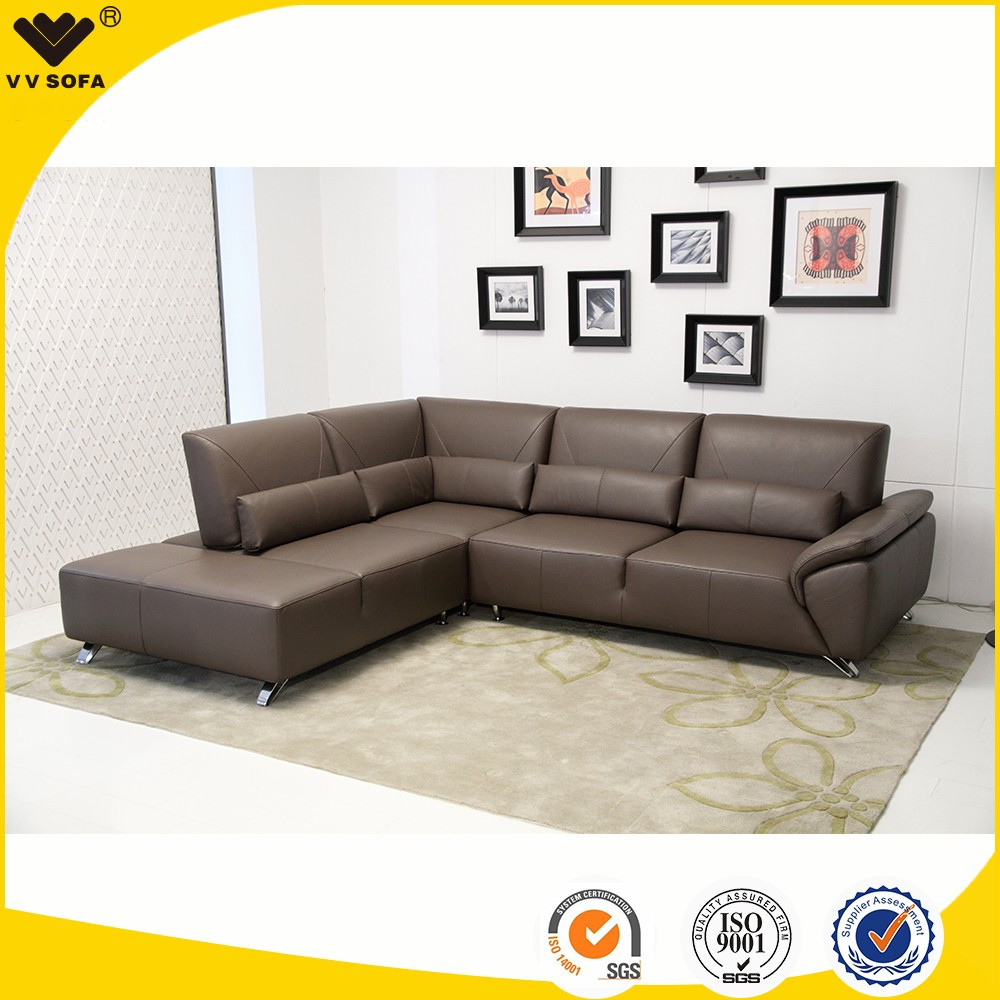 2017 desain modern furniture ruang tamu set sofa kulit furniture sofa