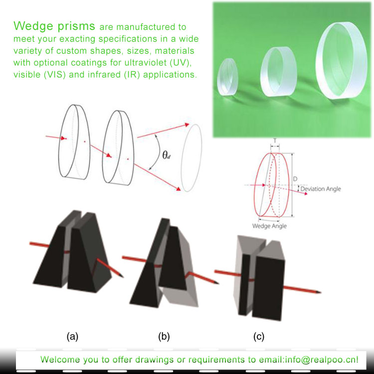 Optical Wedge Prism-BK7,K9