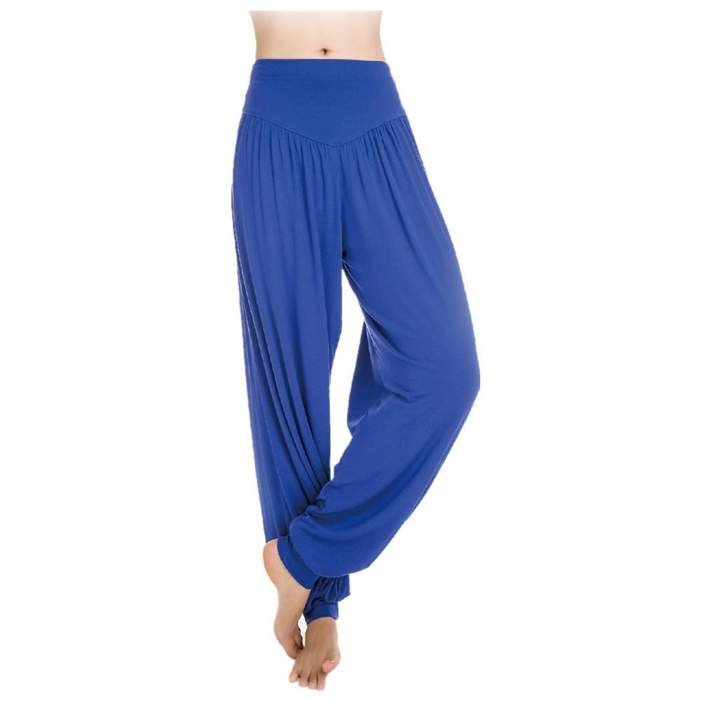 Casual Women Harem Pants Super Soft Elastic Waistband Dance Club ...