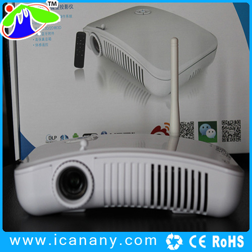 dual-core 1.5G CPU 700 lumens television 3d mini projector 3d movies new products on china marketbest selling products in ameri.