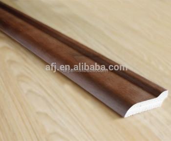 Decoratieve vloer accessoire mdf laminaat plint buy laminaat