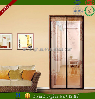 Mosquito Netting With Magnets For Doors Magic Mesh Screen Door Close