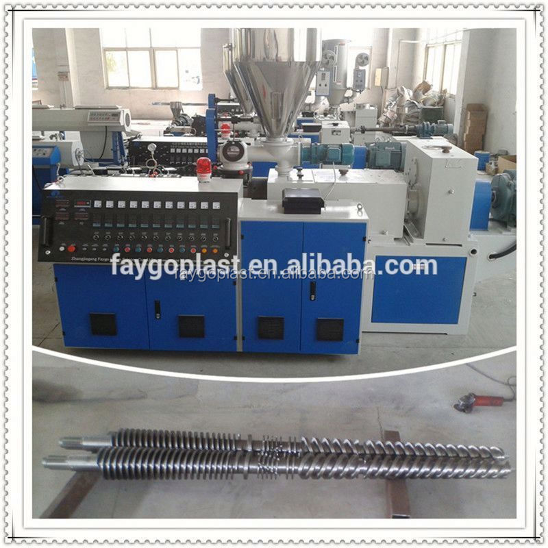 pvc single wall corrugated pipe making machine electric wire conduit corrugated flexible hose extruding machine