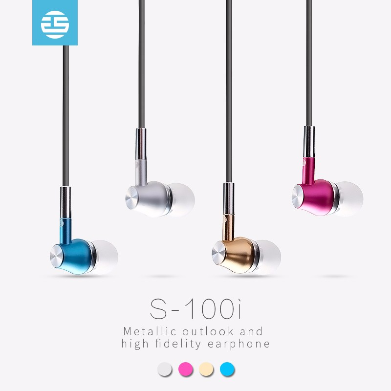 2017 good price heavy bass metal piston in-ear stereo earphone MP3 gaming headset with mic